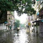 after the rains, Calcutta floods