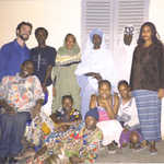 Dave's Thies host family - the Sarr's